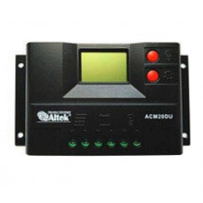 Контроллер заряда аккум АСМ20D+USB