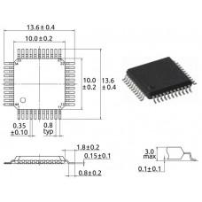 ATxmega32A4-AU / 8/16-бит микр-р / TQFP44 / Atmel