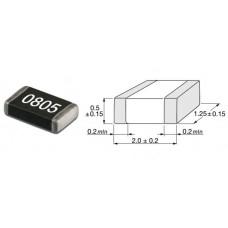 0E Om / SMD 0805 / 5% / 10 шт.
