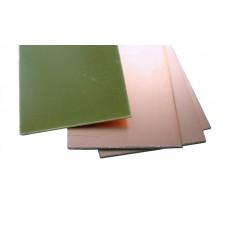 Стеклотекстолит фольгированный односторонний / СФ-1-35Г (FR4) / 1.0 mm / 1дм2