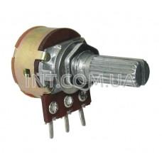 1K Om переменный c выключателем / звезда / лин. / 0.125W