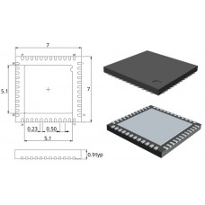 STM32F103CBU6 / 32-бит микр-р / VFQFPN48 / ST