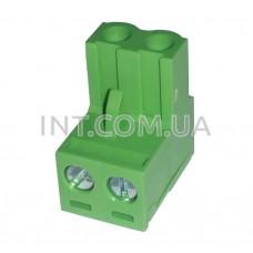 EDK-500-02P-4 / клеммник на кабель / шаг 5.00 mm / JIEKLE