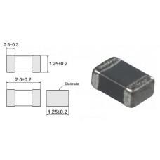 Дроссель-фильтр подавления ЭМП / BLM21PG221SN1 / I=2A / 220 Om (100MHz) / MURATA