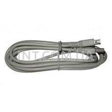 Кабель - удлинитель USB / штекер USBA - гнездо USBA / 3 m / серый