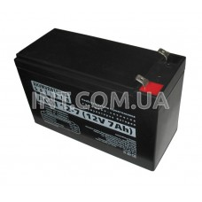 Аккумулятор / 7Ah / 12V / AGM A 12 - 7 AH / 151х65х94mm / Casil / для ИБП