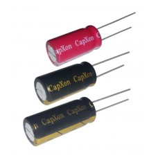 470mkF / 25V / эл. кон. low ESR / 105°C / 10x20mm / CapXon (LZ)