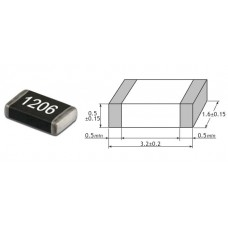 750E Om / SMD 1206 / 1% / 10 шт.