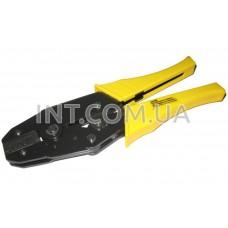 Обжим (кримпер) / HS-03B / для ножевых (плоских) клемм без изоляции 1.5...6.0 mm
