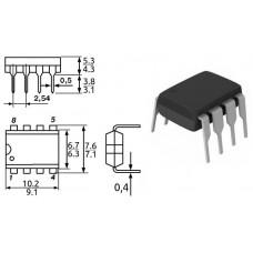 HCPL-2611 / оптопара быстрод. / св.диод-логика / 1 канал / 10 MBaud / DIP8 / ONS