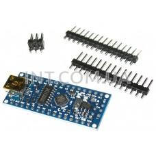 Отладочная плата Arduino Nano / ATmega168 / CH340 / USB Mini-B / Ver.3.0