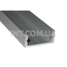 Профиль накладной алюминиевый / ЛП-7 / 2 м