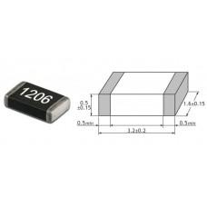 6K8 Om / SMD 1206 / 1% / 10 шт.