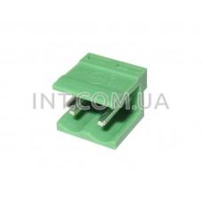 HT508V-02P / разъем на плату, вертикальный / шаг 5.08 mm