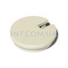 Вставка для ручки переменного резистора D=16mm, d=12mm, h=15mm / цвет - кремовый
