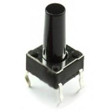 Кнопка тактовая / SWT-2/19 (KLS5-BC9V-02-150) / 6х6x19mm / Ninigi