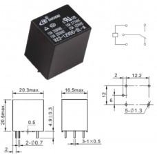 Реле 922-12VDC-SL-C / I=10A / U=250V / Ucoil=12VDC / NO/NC
