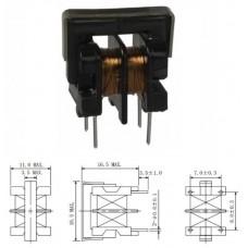 LTE-UU9801Дроссель / 2.2mH / 16.5x16.5x11mm, U=250V, проходной фильтр / аналог UU9LFNP-B222