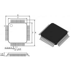 STM32F103CBT6 / 32-бит микр-р / LQFP48 / ST