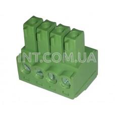 KF350-350-04P-14/ клеммник на кабель / шаг 3.50 mm