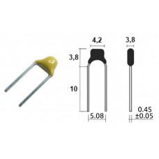 4.7mkF / 50V / многосл. керам. / Y5V / ±10%